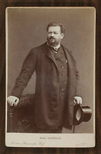 Jean Lassalle, Opéra Singer, Cabinet card, Photo London Stereoscopic Compagny