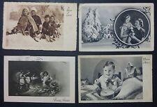 LOTTO 4 CARTOLINE - AUGURALI - BUON ANNO - BIMBI - 1940-45