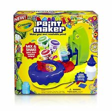 Crayola Paint Maker Kids Boys Girls New Toy Ages 8+ Color Activity Play Design