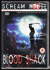 BLOOD SHACK (SCREAM STREET) - WOLFGANG SCHMIDT - R2 DVD (2005) - NEW & SEALED