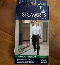 Sigvaris Support Therapy Compression Stockings Size B 15-20 mmHg Shoe Size 9-11