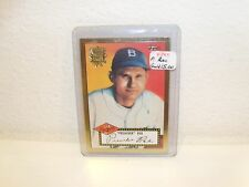 """PREACHER""  ROE 2002 Topps Gold #66 1952 World Series 50th Anniversary"