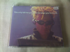 THE PET SHOP BOYS - YOU ONLY TELL ME YOU LOVE ME WHEN YOU'RE DRUNK - CD SINGLE