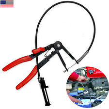 Flexible Wire Long Reach Hose Clamp Pliers For Fuel Oil Water Hose Auto Tool