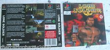 LONE SOLDIER (1995) PLAYSTATION 1 COVER, NO DISCO
