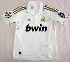 REAL MADRID 2011/12 BOYS UCL HOME SHIRT BY ADIDAS SIZE 14 YEARSBRAND NEW