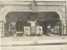 1921 VINTAGE PHOTOGRAPH OF REX THEATRE PLAYING EVERYTHING FOR SALE W/ MAY MCAVOY