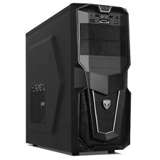 AvP STORM 28 BLACK FRONT USB 3.0 & HD AUDIO MIC PORTS ATX GAMING TOWER CASE