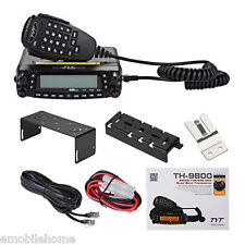 TYT TH-9800 HF/VHF/UHF Quad Band Dual Display Repeater Car Truck Ham Radio 809CH