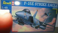 F-15E STRIKE EAGLE Weapons,Sensors & Tanks of USAF REVELL 1/48 KIT, 224 parts!