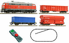 Fleischmann 631403 Digital Starter Set BR 218 With Freight Train DB AG Genuine
