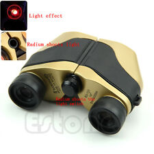 Spotting Scope LED Telescope Binoculars Optical Zoom 5m-10000M Gold New 80x120