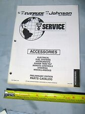 Johnson Evinrude OMC Boat Motor Accessories Parts Catalog, P/N 175936, 0175936