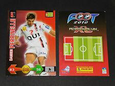 DAMIEN PERRINELLE US BOULOGNE-SUR-MER PANINI FOOTBALL ADRENALYN CARD 2009-2010