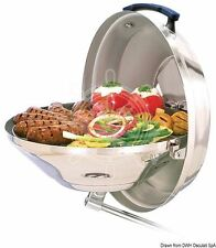 MAGMA Stainless Steel Solid Combustible Barbecue with Connected Parts