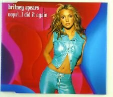 Maxi CD - Britney Spears - Oops!...I Did It Again - A4457