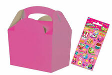 10 Pack Shopkins Decorate Your Own Party Food Meal Box Or Sticker Favours