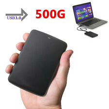 "500GB 2.5"" Toshiba Canvio Basics Portable External Hard Disk Drive USB3.0 Blak"