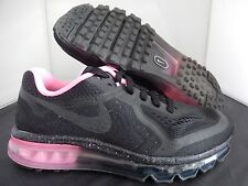 NIKE AIR MAX 2014 ID BLACK PINK SZ 7.5 MENS-WOMENS SZ 9 [641423-991]