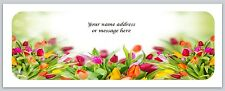30 Personalized Return Address Labels Flower Buy 3 get 1 free (bo570)