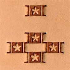 X596 Craftool Basketweave Stamp Tandy Leather 6596