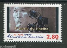 FRANCE 1995, timbre 2919, 1° SIECLE DU CINEMA, PROJECTEUR, ACTEUR, neuf**