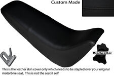 BLACK STITCH CUSTOM FITS KINROAD XT 50 GY DUAL LEATHER SEAT COVER