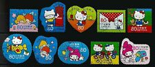 ˳˳ ҉ ˳˳G74 Japan Commemorative Greeting Summer ¥80 2013 complete set Kitty 日本