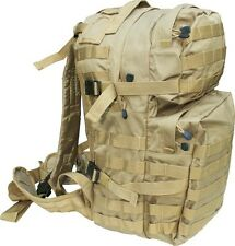 Elite Assault Patrol Pack 40 Litre SAND COYOTE TAN BEIGE RUCKSACK MEDIUM MOLLE