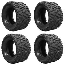 Lifted Golf Cart Tires Set of 4 - 25x12.00-10 GTW Barrage 6-Ply Mud Tires