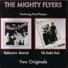 "Mighty Flyers ft Rod Piazza: ""Radioactive Material/File Under Rock"" (2on1 CD Re)"