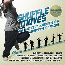 CD Hottest Hardstyle and Jumpstyle Tracce Shuffle Moves di Various Artists 2CDs