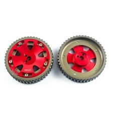 2pcs Cam Gears Pulley For MITSUBISHI EVO 1 2 3 4 5 6 7 8 9 ECLIPSE DSM 4G63 RED