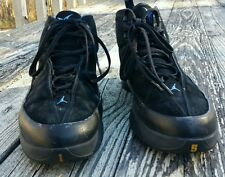 Men's Jordan Melo M3 SZ 10.5 Black/University-Blue/Taxi 314302 042