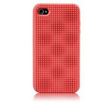 Case-Mate Egg Impact- Silicone Case for  iPhone 4 (Red)
