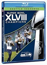 NFL Super Bowl Champions 48 XLVIII [Blu-ray] NEU Seattle Seahawks Denver Broncos