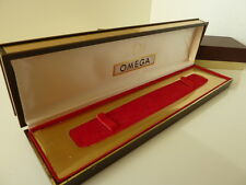Retro Omega men's watch box in perfect condition