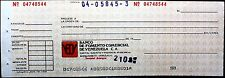 VENEZUELA BANCO DE FOMENTO COMERCIAL SUCURSAL ACARIGUA ANTIQUE BANK CHECKS