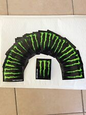 3 Autocollant stickers Monster Energy tuning déco moto bike bmx skate snowboard