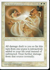 MAGIC THE GATHERING 5TH EDITION WHITE REVERSE DAMAGE