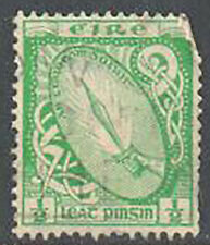 Ireland SG 71 1922 Sword of Light 1/2d