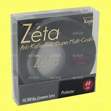 Genuine Kenko 49mm Zeta Super Multi-Coating Lens Protector Clear Filter