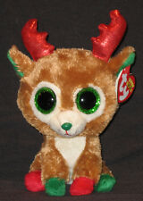 TY BEANIE BOOS - ALPINE THE REINDEER (2013 VERSION) - MINT with MINT TAGS