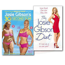 Josie Gibson Diet Get Slim, Stay Slim Books & DVD Collection Set, (The Josie Gib