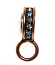 KIRKS FOLLY  CHARM / PIN HOLDER TO USE WITH THE MAGNETIC NECKLACES   coppertone