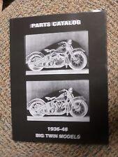 PARTS BOOK KNUCKLEHEAD  HARLEY  KNUCKLEHEAD BIG TWIN FLATHEAD 1936-1948