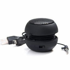 Black Mini Portable Hamburger Speaker For iPod iPhone Tablet Laptop PC MP3 SHL