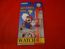 Super Mario Brothers Bros. Nintendo NES Retro Watch BRAND NEW Sealed 1992 Red