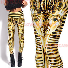 Sphinx seamless leggings - 8 - 12 UK, Egyptian, history, gold,  Egypt