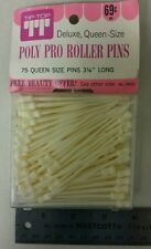 Vintage / Retro Poly Pro Roller Pins! Deluxe, Queen Size Hair Pins! Nice Items!